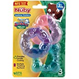 Nuby Water Filled Teethers 3 Pack, Multi, 3 Count