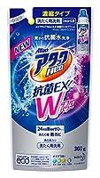 アタックNeo 抗菌EX Wパワー 洗濯洗剤 濃縮液体 詰替用 360g