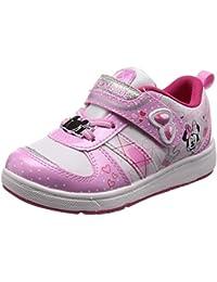 [ディズニー] 運動靴 通学履き 子供 靴 ミッキー ミニー マジック ゆったり 抗菌防臭 DN C1207