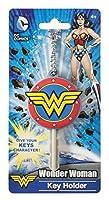 DC Wonder Woman Logo Soft Touch PVC Key Holder [並行輸入品]