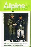 Alpine Miniatures アルパイン 1/35 ヨアヒム・パイパー&下士官 ハリコフの戦い (2体セット) レジン製フィギュア