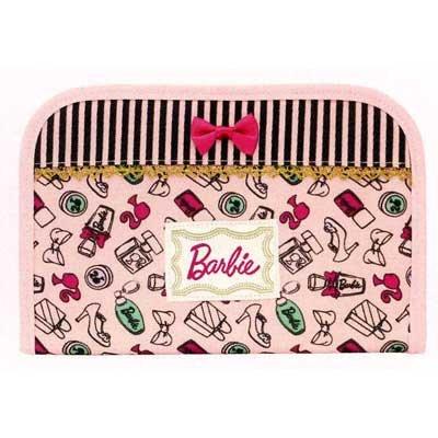 バービー Barbie マルチケース ライトピンク8670【母子手帳ケース トラベルケース パスポートケース キャラクター】