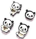 (アリュールラブ)Allure Love クッキー抜き型 カッター デコモールド 可愛いパンダ 4個セット (¥ 539)