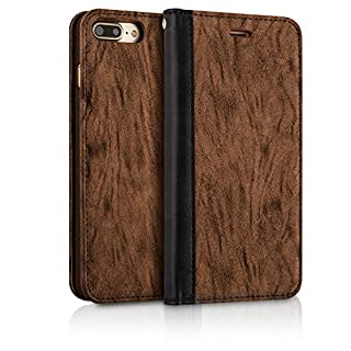 1bcdd669db iPhone 7 Plus / iPhone 8 Plus ケース 手帳型 高品質 PU レザー 耐衝撃 カード収納 マグネット スタンド  アイフォン7 Plus / アイフォン8 Plus カバー [ iPhone7 Plus ...