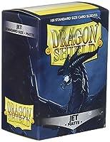 ドラゴンシールドデッキ保護スリーブゲーム、カード標準サイズ( 100、袖、マットジェット