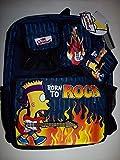 ザ・シンプソンズ リュック The Simpsons Bart Simpson Backpack With Bonus Wallet New With Tags Collectible [並行輸入品]