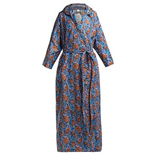 (ヴェトモン) Vetements レディース アウター レインコート Floral-print hooded raincoat [並行輸入品]