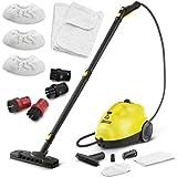 ケルヒャー(KARCHER) スチームクリーナー 洗浄器 SC1.020plus &専用ポイントナイロンブラシ&コットンクロス セット