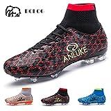 BOLOG メンズ/ジュニア サッカー靴 サッカースパイク トレーニングシューズ フットボール ブーツ 超軽量 スニーカー