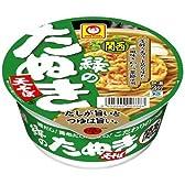 【関西地区限定】マルちゃん 緑のたぬき天そば (関西) 101g×12個