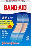BAND-AID(バンドエイド) 救急絆創膏 透明タイプ 40枚