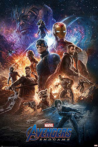 Avengers: Endgame Poster From the Ashes (61cm x 91,5cm)