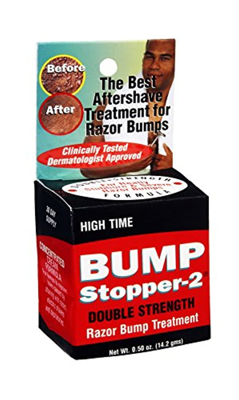 特定のどちらかアナログHigh Time バンプストッパ2倍強度かみそりバンプ治療、0.5オンス(9パック)