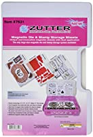 Zutter Magnet Sheets 3/Pkg-3 Magnetic Sheets + 3 Dividers (並行輸入品)