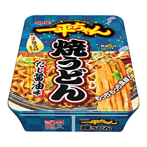 明星 一平ちゃん焼うどん だし醤油味 116g×12個入り (1ケース)