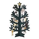 サンリオ クリスマスカード 洋風 立体 ネコツリー S7193