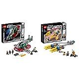 レゴ(LEGO) スター・ウォーズ スレーヴl(TM) – 20周年記念モデル 75243 ブロック おもちゃ 男の子 & スター・ウォーズ アナキンのポッドレーサー(TM) – 20周年記念モデル 75258 ブロック おもちゃ 男の子【セット買い】
