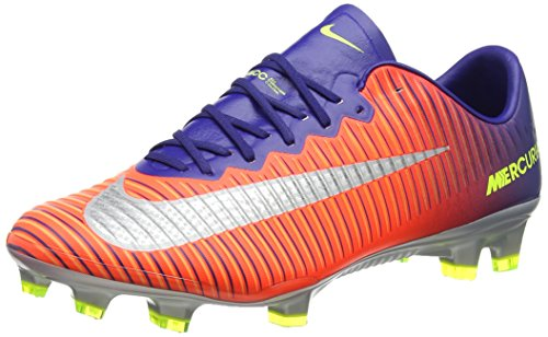 Nike Mercurial Vapor XI FG - Deep Royal Blue & Chrome サッカースパイク (US Size - 8)