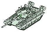 トランペッター 1/72 ソビエト軍 T-80B 主力戦車 プラモデル 07144