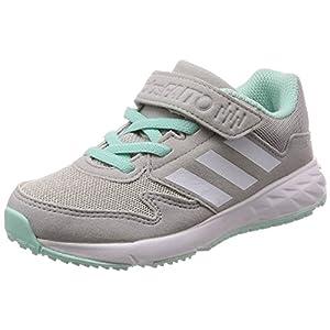 [アディダス] 運動靴 アディダスファイト 17.0cm-25.5cm(現行モデル) ボーイズ グレーTWO F17/ランニングホワイト/クリアミントF18 23.5 cm