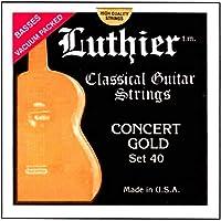 Luthier #40 ゴールド クラシックギター弦 ルシエール