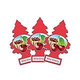 アメリカの香り エアフレッシュナー 芳香剤 リトルツリー LittleTrees ワイルドチェリー Wild Cherry 3pcs Made in USA