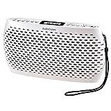 オーム電機 ラジカセ AudioComm RCR-90Z-W [ホワイト]