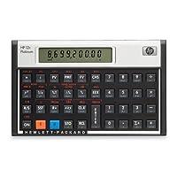 hew12cpt–HP 12C PLATINUM FINANCIAL CALCULATOR