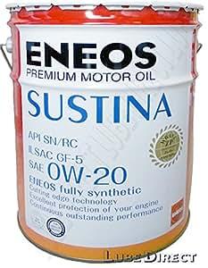 エネオス プレミアムオイル サスティナ 0W-20 20L ENEOS SUSTINA
