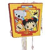 """Ni Hao, Kai-Lan 19"""" Pull String Pinata NIハオ、甲斐蘭19 """"文字列ピニャータを引い♪ハロウィン♪サイズ:"""