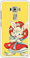 sslink ZenFone3 ZE520KL ハードケース ca1346-6 ドット 水玉 兎 うさぎ ラビット スマホ ケース スマートフォン カバー カスタム ジャケット ASUS エイスース アスース