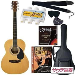 HONEY BEE アコースティックギター F-15 初心者入門リミテッドセット[ピッチパイプ付き] /ナチュラル(9707022401)