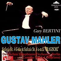 SSS0074/75 マーラー:交響曲第4番、交響曲第6番「悲劇的」