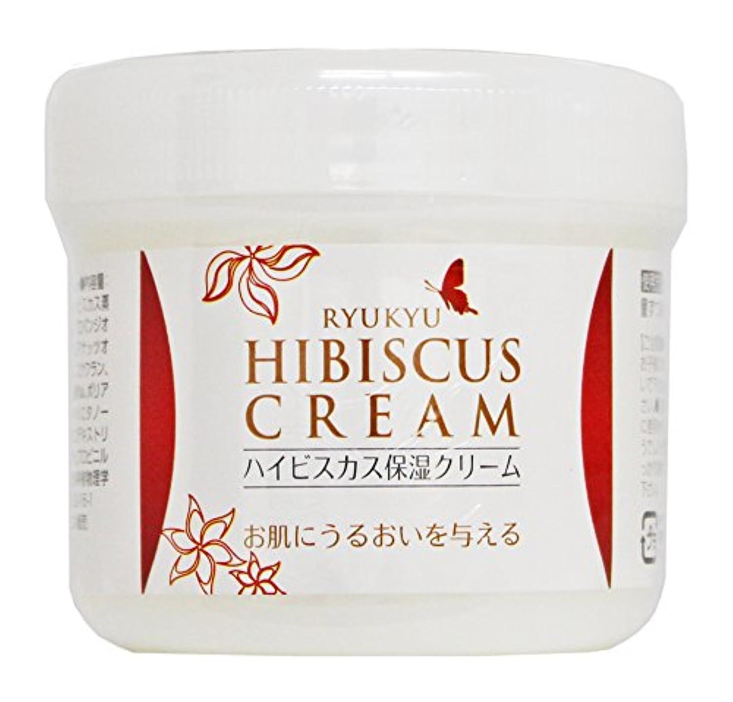 お肉贈り物メンタリティ琉球ハイビスカス保湿クリーム 100g