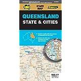 Queensland State & Cities Map 419 9th ed (waterproof)