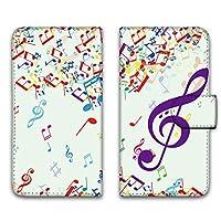 WHITENUTS Galaxy S6 SC-05G ケース 手帳型 UVプリント手帳 パターンB (cw-442) スマホケース ギャラクシー エスシックス 手帳 カバー スマホカバー WN-PR1533704_MX