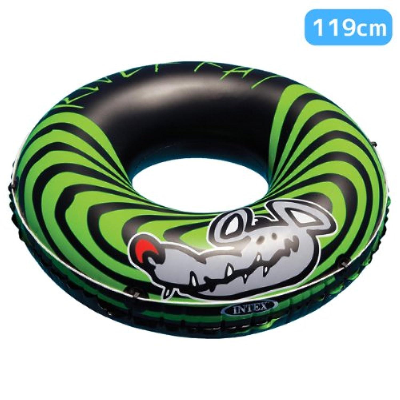 INTEX(インテックス) 浮き輪 リバーラット 119cm 対象年齢:9歳から swm-uk-68209