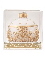 kameyama candle(カメヤマキャンドル) オーナメントキャンドル 「 ホワイト 」(A4440000W)
