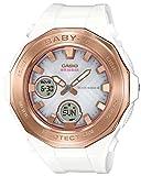 [カシオ] 腕時計 ベビージー 電波ソーラー BGA-2250G-7AJF レディース ホワイト