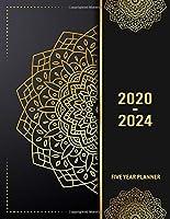 5 Year Planner 2020 - 2024: Splash 5 Year Planner Calendar Book 2020-2024 Size 8.5 x 11 Inch