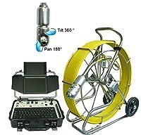 60Mドレイン線クリーニングカメラ、検査チューブカメラ8インチTFTカラーモニター