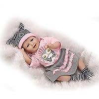 リアルな幼児用人形RebornベビーガールAlive Kids Playmateダミーおもちゃギフト、22インチ