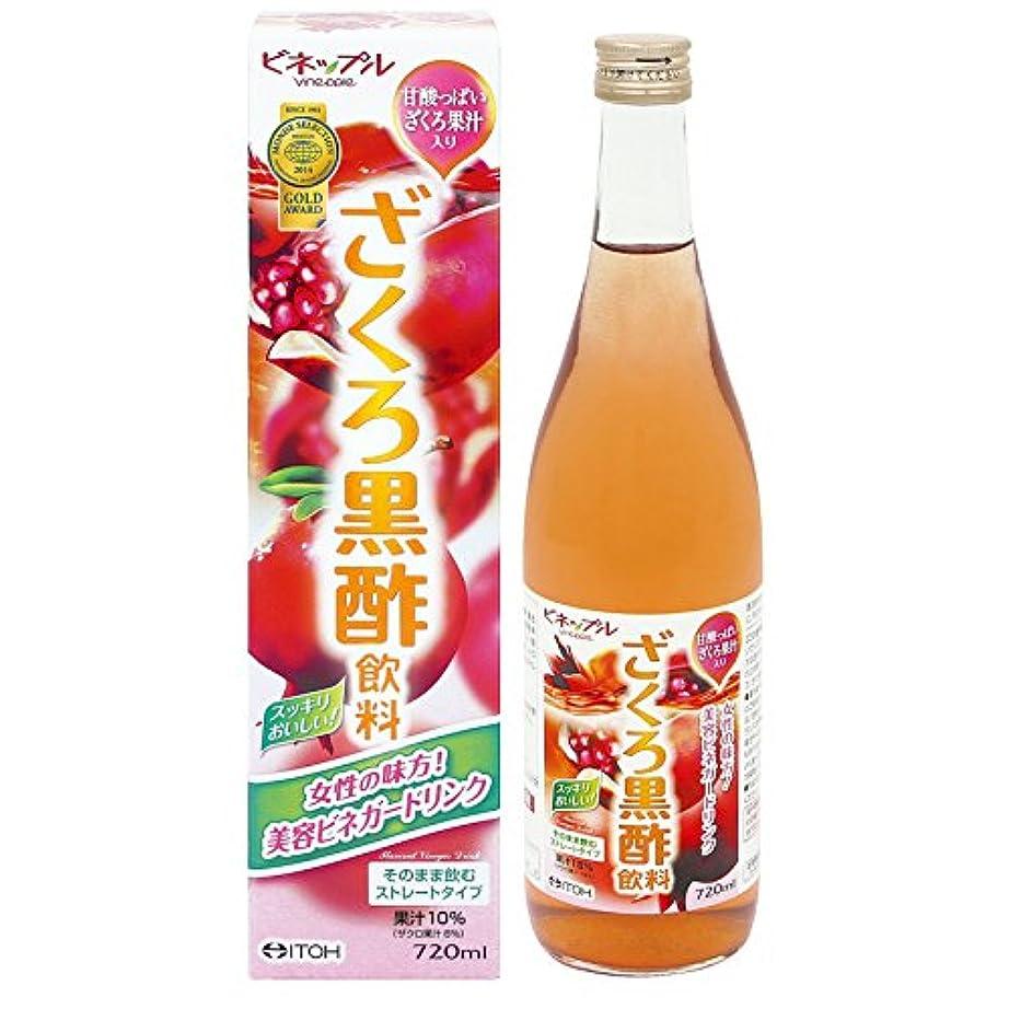 平均餌クマノミ井藤漢方製薬 ビネップル ざくろ黒酢飲料 720ml