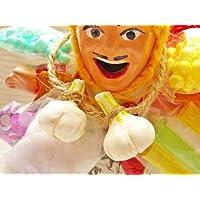 【開運帖(かいうんちょう)掲載商品】エケコ人形用小物☆ 病よ治れ!健康のにんにくパワー