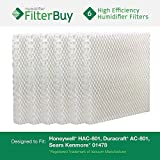 Honeywell HAC-801, Duracraft AC-801, Sears Kenmore 01478 Replacement Humidifier Wick Filters. Pack of 6 Filters. Designed by FilterBuy. by FilterBuy