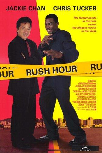 Rush Hourムービーポスター11x 17Jackie Chanクリス・タッカーツィ・マーJ...