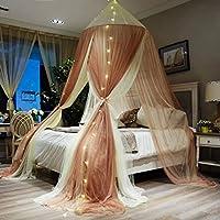 プリンセスガーゼ ベッドキャノピー, 防蚊ネット の 赤ちゃん 子供 再生 ビーチ ホーム 保育園 ホテル ハンギング蚊帳 テント-a