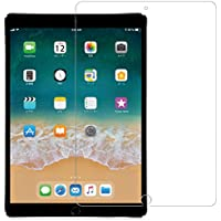 Nimaso iPad Pro 10.5 専用 フィルム 【 日本製素材旭硝子製 】 強化ガラス 液晶保護フィルム 高透過率 防爆裂 スクラッチ防止 気泡ゼロ 指紋防止対応 硬度9H (iPad Pro 10.5, 透明)