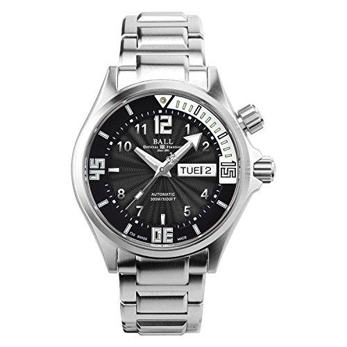 [ボールウォッチ]BALL Watch 腕時計 ダイバーII ブラック×ホワイト文字盤 ステンレススチール 300m防水 DM2020A-SAJ-BKWH メンズ 【並行輸入品】