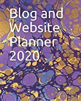 Blog and Website Planner 2020